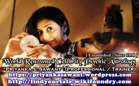 Celebrity Psychic Astrologer Priyanka Sawant